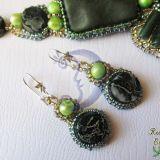 Žalieji auskarai