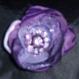 Violetinė  gėlė