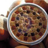 Oranžinių atspalvių mozaikos sagė