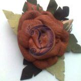 Ruda rožė