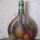 Декоративная бутылка