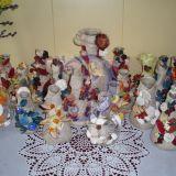 dekoruotos vazos