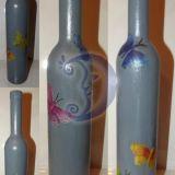 Dekupažinė vaza