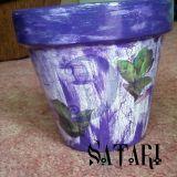 Violetinis vazonas